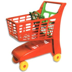 Sturdy Toy Shopping Cart